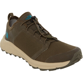 The North Face Litewave Flow Lace II Shoes Herr new taupe green/four leaf clover